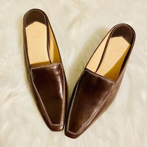 NWOB Arturo Chiang Leather Pointy Mules